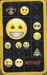 Piórnik z wyposażeniem dwukomorowy Emoji 11