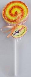 Lollypads - Lizak - karteczki samoprzylepne pomarańczowe