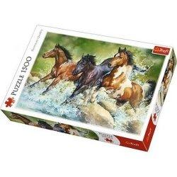 Puzzle 1500 Trzy dzikie konie