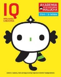 IQ-Inteligencja logiczna dla 4-5 latków nowe zabawy z poradami psychologa. Książka z naklejkami. Aka