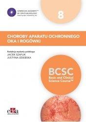 Choroby aparatu ochronnego oka i rogówki BCSC 8