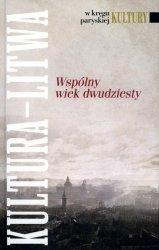 Kultura Litwa Wspólny wiek dwudziesty