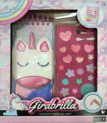 Girabrilla jednorożec - notatnik i kosmetyki