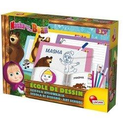 Masza i Niedźwiedź Szkoła rysowania