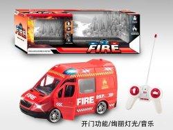 Auto 25 cm straż pożarna na radio
