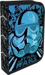 Piórnik dwuklapkowy z wyposażeniem Blue Stormtrooper