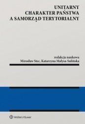 Unitarny charakter państwa a samorząd terytorialny
