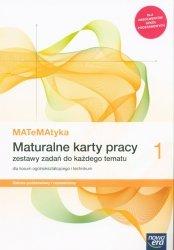MATeMAtyka 1 Maturalne karty pracy Zakres podstawowy i rozszerzony.