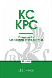 Kodeks cywilny. Kodeks postępowania cywilnego. Edycja Sędziowska
