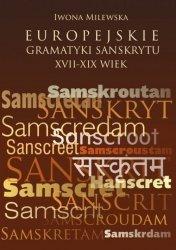 Europejskie gramatyki sanskrytu XVII-XIX wiek