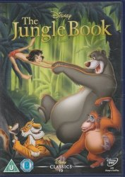 The Jungle Book DVD Disney