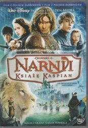 Opowieści z Narnii Książe Kaspian DVD