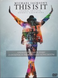 This is it Michael Jackson DVD (booklet)