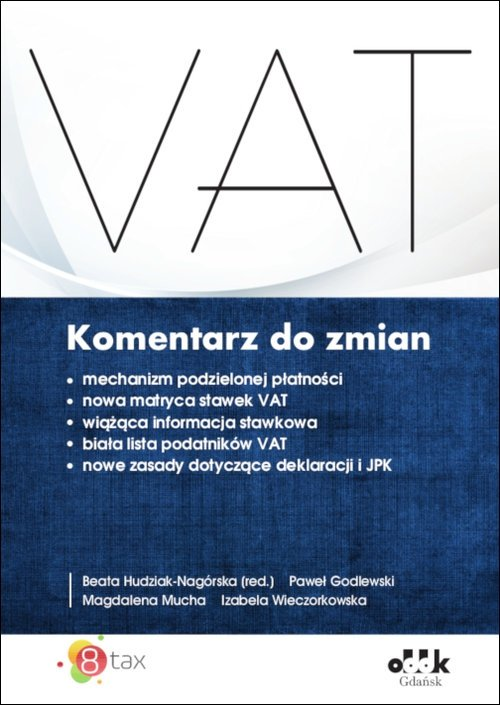 VAT Komentarz do zmian