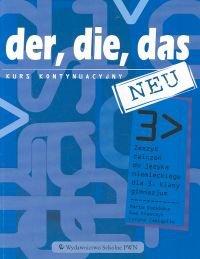 Der die das neu 3 Zeszyt ćwiczeń z płytą CD Kurs kontynuacyjny