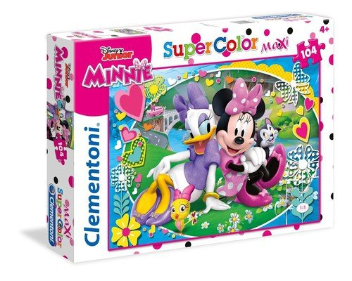 Puzzle 104 Super Color Maxi Minnie happy helpers