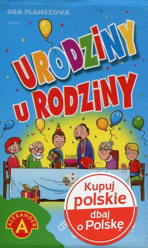 Urodziny u rodziny Gra planszowa