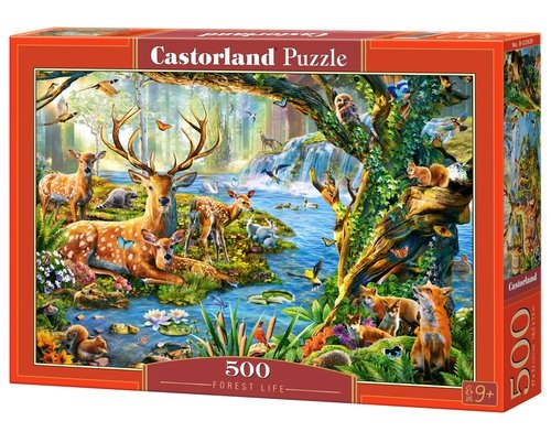 Puzzle 500 Forest Life