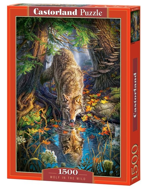 Puzzle 1500 Wolf in the Wild