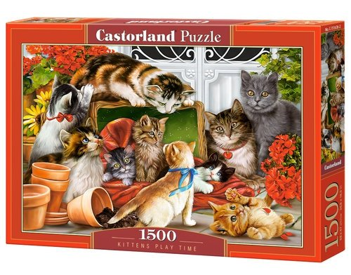 Puzzle 1500 Kittens Play Time