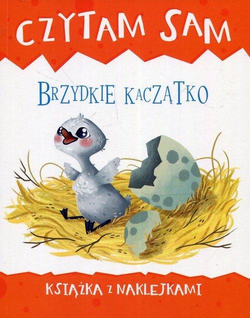 Czytam sam Brzydkie kaczątko Książka z naklejkami