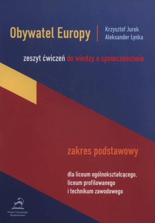 Obywatel Europy Zeszyt ćwiczeń Zakres podstawowy