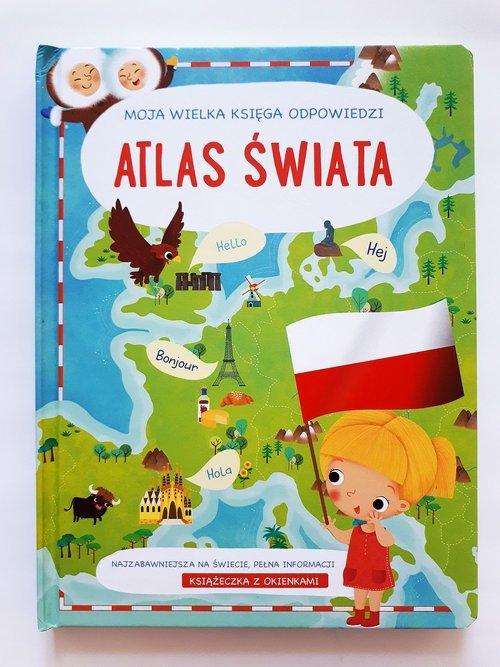 Twoja wielka księga odpowiedzi Atlas świata