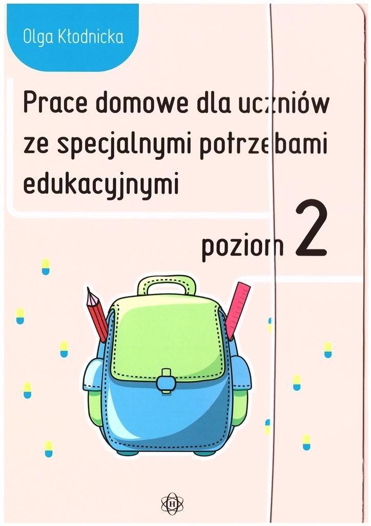 Prace domowe dla uczniów ze specjalnymi.. Poziom 2