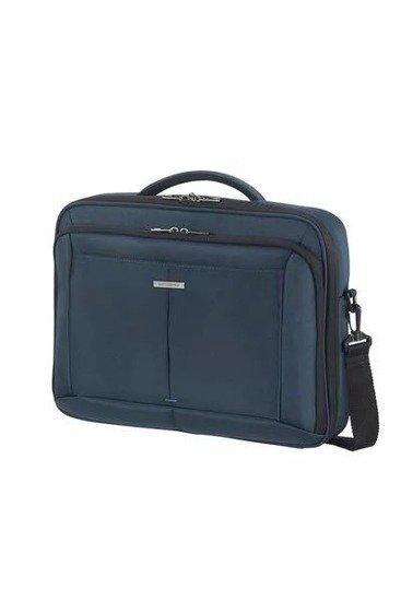 """b3d59ce151a24 Torba na laptopa 15,6"""" wykonana z poliestru. Torba posiada długi  dopinany pasek"""