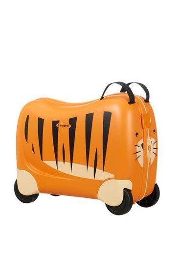 Bagaż/ jeździk dziecięcy. Zamykany na dwa zatrzaskowe zapięcia, wykonany z wysokiej jakości polipropylenu