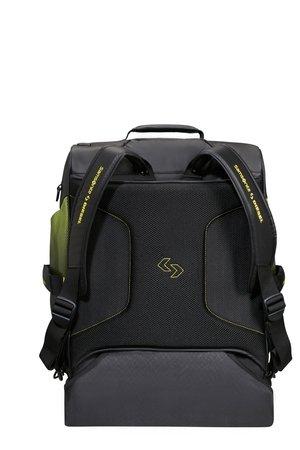 Bagaż/plecak na kołach PARADIVER X DIESEL DUFFLE/WH 55/20 BACKPACK BLACK/YELLOW