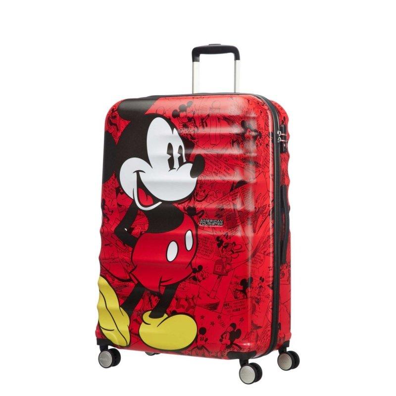 Bagaż wykonany z ABS na czterech kołach