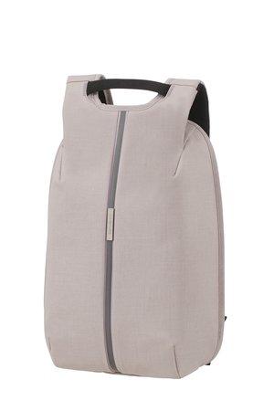 """Pleacak na laptopa 14,1"""" antykradzieżowy. Na zewnątrz wykonany z materiału ekologicznego odpornego na nacięcia, co uniemożliwia kradzież z wnętrza plecaka."""