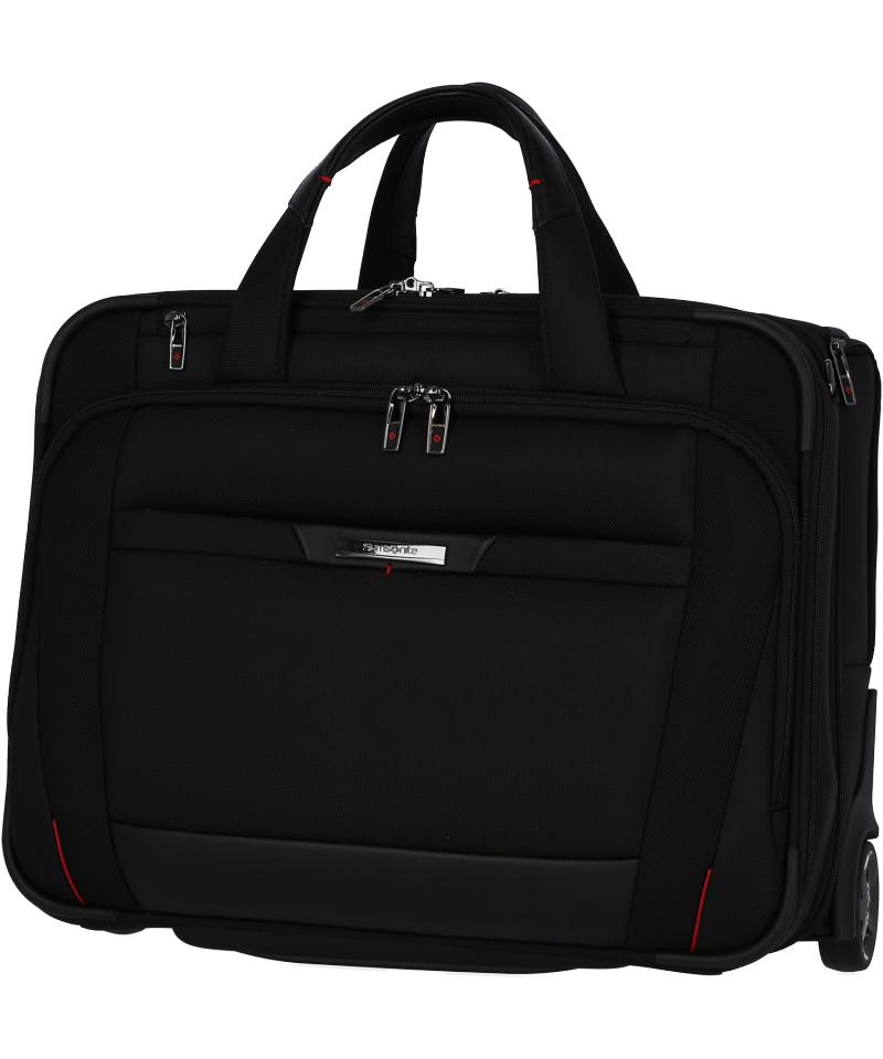 """Torba na laptopa 15,6""""/Pilotka na kołach z wyciąganym stelażem oraz paskiem umożliwiającym noszenie na ramieniu"""