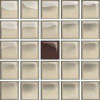 Glass Beige Brown Mosaic A New 14,8x14,8