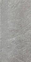 Flash Grys Stopnica Półpoler 30x60