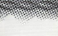 Negra White Inserto Waves 25x40