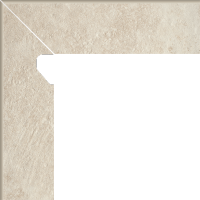 Scandiano Beige Cokół 2 El. Lewy 8,1x30