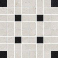Light Marble Grey Mosaic Square 29x29
