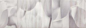 Tulip Grey Inserto 25x75