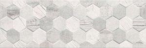 Ceramika Color Polaris Hexagon Mix Rett. 25x75