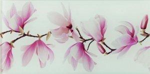 Tango Flower Dekor Szklany 22,3x44,8
