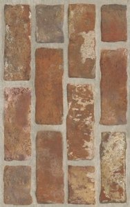 Loft Brown Struktura Brick 25x40