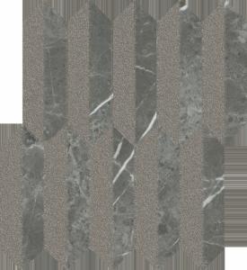 Paradyż Noisy Whisper Graphite Mozaika Mix Mat 27,4x29,8