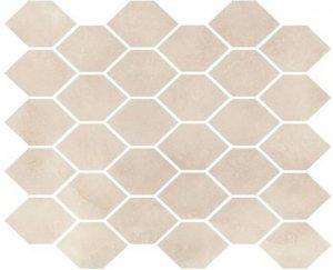 Aquamarina Mozaika Heksagon AQM 03 Poler 27x32