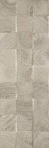 Daikiri Grys Struktura Wood Kostki 25x75