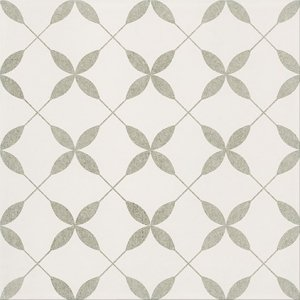 Patchwork Clover Grey Pattern 29,8x29,8
