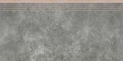 CERRAD apenino antracyt rect .stopnica nacinana * 597x297x8,5 g1 szt.