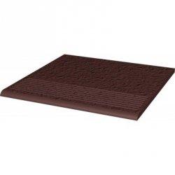 PARADYZ natural brown stopnica prosta duro 30x30 g1 m2.
