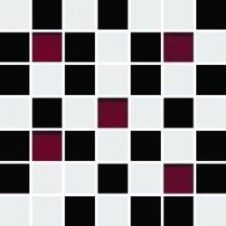 CERAMIKA KOŃSKIE Michelle white-black mosaic 20x20 G1. szt